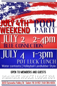 4th of July Weekend at the Pool!
