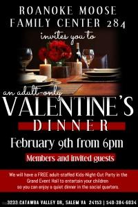 Valentine's Dinner 2018